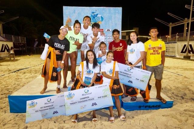 University of Santo Tomas team for Tour Manila Open