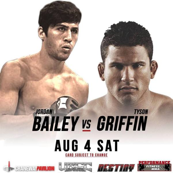 Jordan Bailey, Tyson Griffin (Facebook/URCC Global)