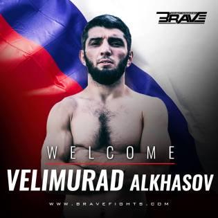 Velimurad Alkhasov (Facebook/Brave Combat Federation)