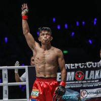 Team Lakay's Edward Kelly vs Sung Jong Lee at 'ONE: Roots of Honor' in Manila, Philippines