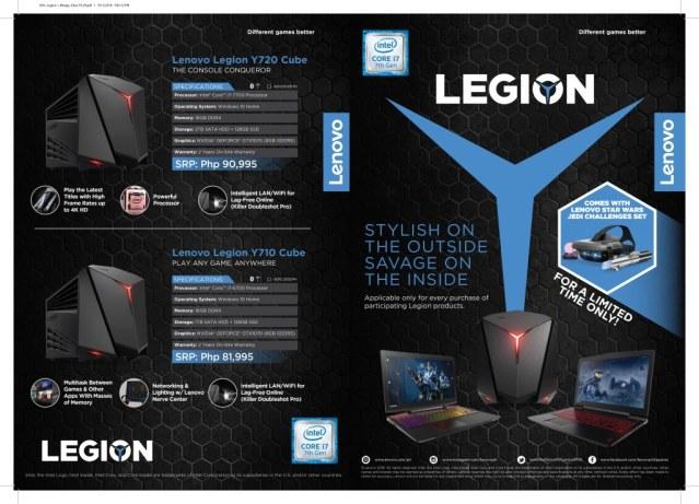 Lenovo Legion + Mirage Flyer