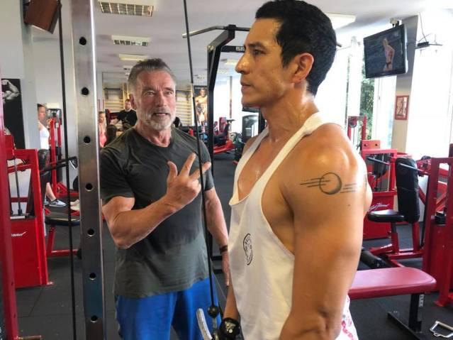 Arnold Schwarzenegger, Gabriel Luna