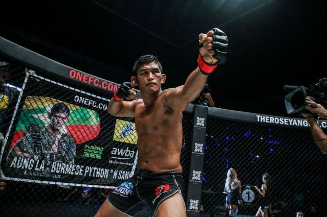 Aung La N Sang (©ONE Championship)