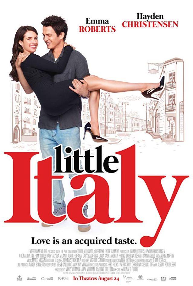 'Little Italy' cast: Hayden Christensen, Emma Roberts,  Alyssa Milano, Linda Kash, Adam Ferrara,  Gary Basaraba, Andrew Phung, Jane Seymour, Daniel Aiello, Andrea Martin