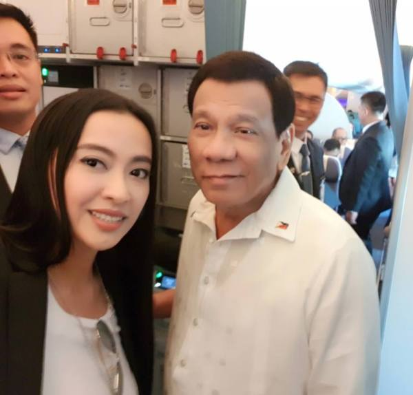 Mocha Uson, Rodrigo Duterte