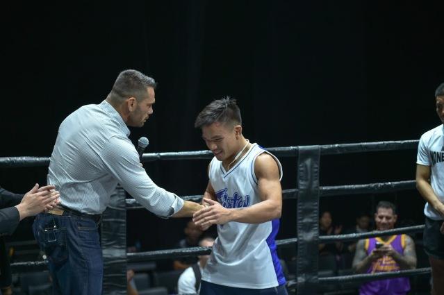 Rich Franklin, Mark Abelardo (©ONE Championship)