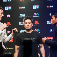 [PHOTOS] Jo Nattawut vs George Mann at 'ONE: Heart of the Lion' in Singapore