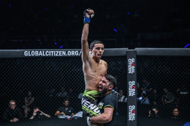 Alaverdi Ramazanov, Mehdi Zatout (© ONE Championship)