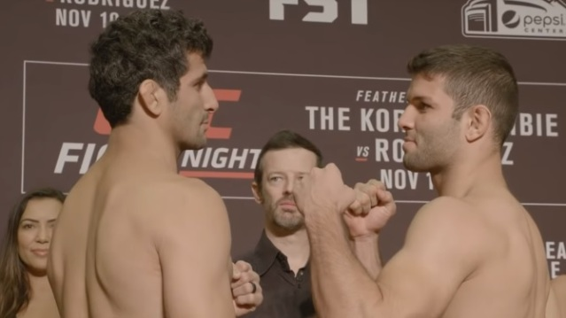 California vs Florida: Beneil Dariush, Thiago Moises fight at 'UFC Fight Night 139' in Colorado