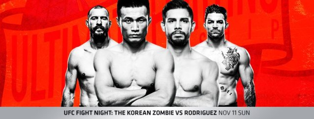 Donald Cerrone, Chan Sung Jung, Yair Rodriguez, Mike Perry