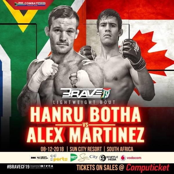 Hanru Botha, Alex Martinez