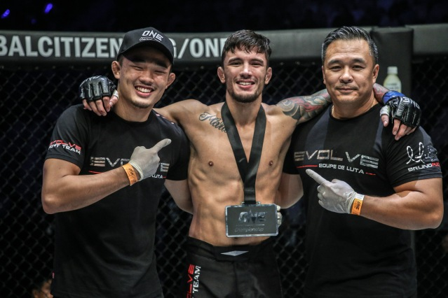 Christian Lee, Bruno Pucci, Ken Lee (©ONE Championship)