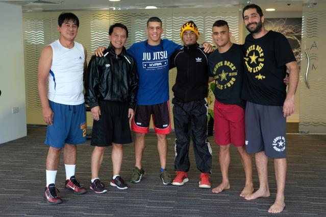 Roldan Luis Loman, Mark Sangiao, Felipe Efrain, Mark Loman, Daniel Santos, Diego Lima