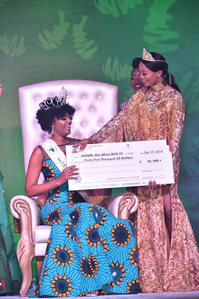 Miss Africa 2018 Calabar results: Botswana's Gaseangwe