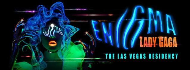 'Lady Gaga Enigma' poster