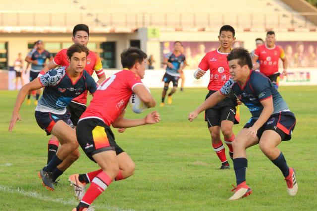 Mathew Imperial Davie, Marco Wijangco Tan (© Thailand Rugby Union)