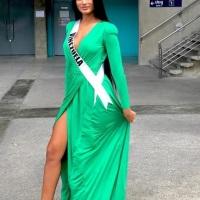 Miss Venezuela Sthefany Gutierrez congratulates Catriona Gray, thanks Thailand