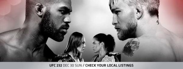 'UFC 232' poster