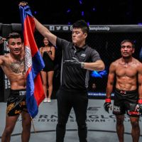 Chan Rothana vs Gustavo Balart at 'ONE: Dreams of Gold' in Bangkok, Thailand