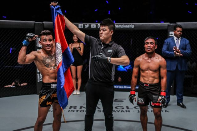 Cambodia's Chan Rothana earns 4th ONE Championship win