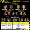 'Cage Warriors 100' fight card
