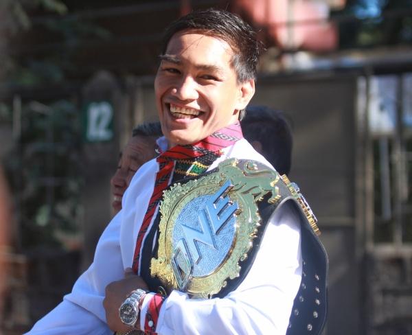 Eduard Folayang (© ONE Championship)