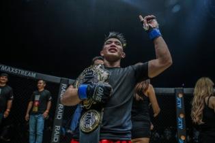 Joshua Pacio (© ONE Championship)