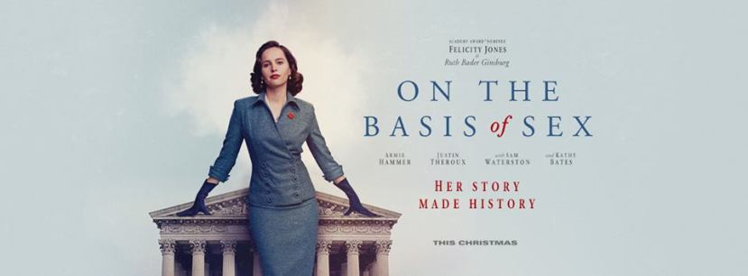 'On the Basis of Sex' poster