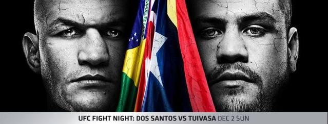 'UFC Fight Night 142' poster