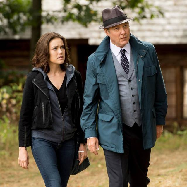 Megan Boone, James Spader