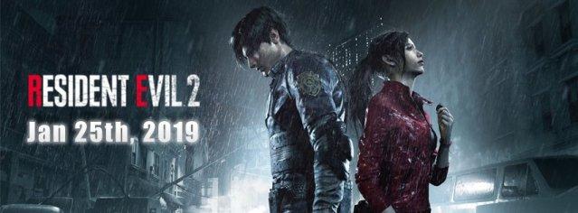 'Resident Evil 2' poster