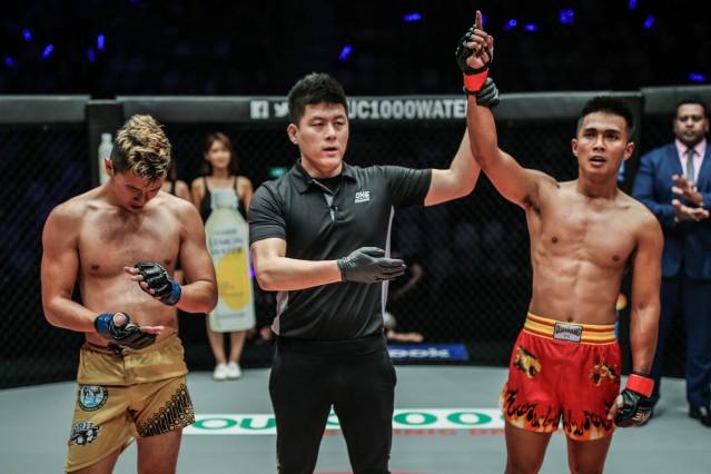 Andreas Satyawan, Kemp Cheng, Oscar Yaqut (© ONE Championship)