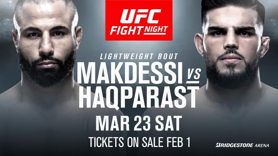 Watch UFC Fight Night 148: Thompson Vs Pettis 3/23/19
