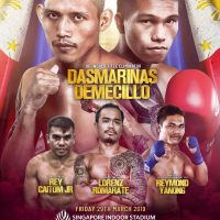 Michael Dasmarinas, 4 other Filipino boxers to compete at Ringstar Boxing's 'Ridhwan Ambunda II-The Rematch' in Singapore