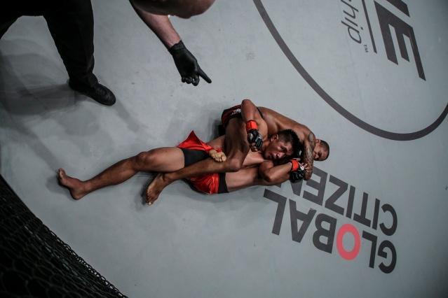 Olivier Coste, Geje Eustaquio, Adriano Moraes (© ONE Championship)