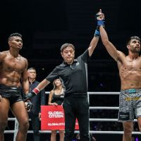 Costa Rica's Ariel Sexton submits Amir Khan at 'ONE: Call to Greatness' in Singapore