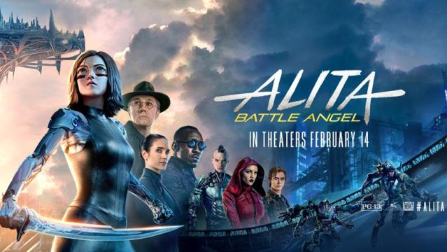 'Alita: Battle Angel' poster