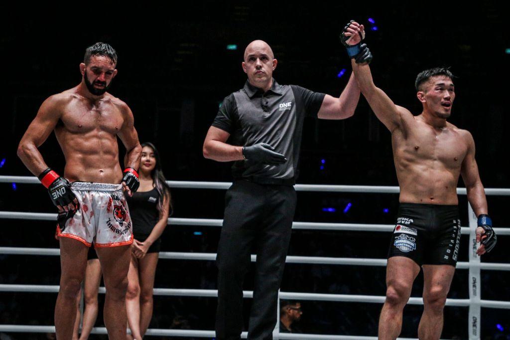 Emilio Urrutia, Olivier Coste, Yoshiki Nakahara (© ONE Championship)