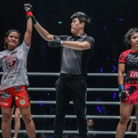 Team Lakay's Gina Iniong earns 4th ONE Championship win at 'ONE: Clash of Legends' in Bangkok, Thailand