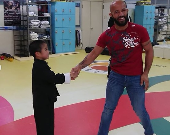 Ryusei Imai, Demetrious Johnson