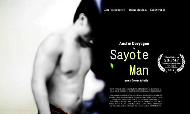 'Sayote Man' poster