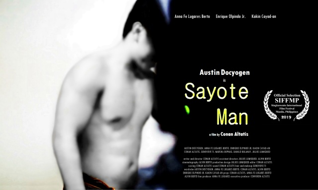 'Sayote Man' poster