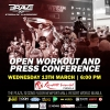 'Brave 22: Storm of Warriors' open workouts