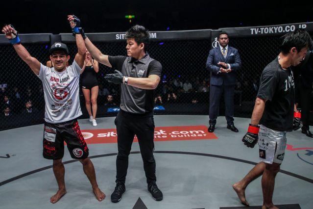 Danny Kingad, Kemp Cheng, Senzo Ikeda (©ONE Championship)