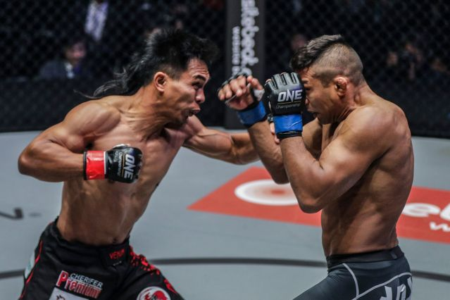 Kevin Belingon, Bibiano Fernandes (©ONE Championship)