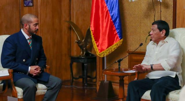 Khalid bin Hamad Al Khalifa, Rodrigo Duterte