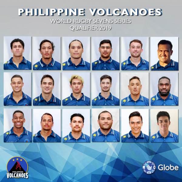 Philippine Volcanoes National Men's Sevens Rugby Team