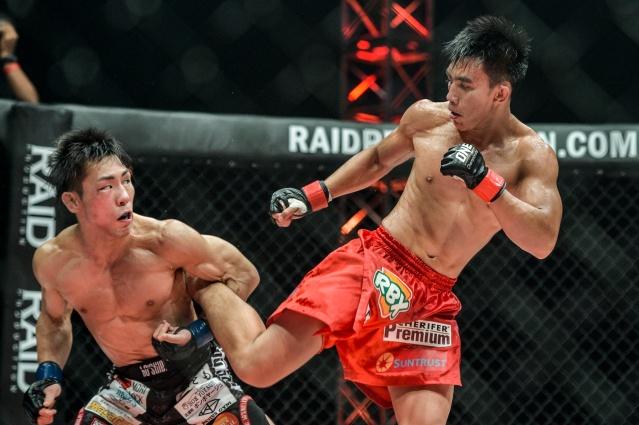 Yosuke Saruta, Joshua Pacio (© ONE Championship)