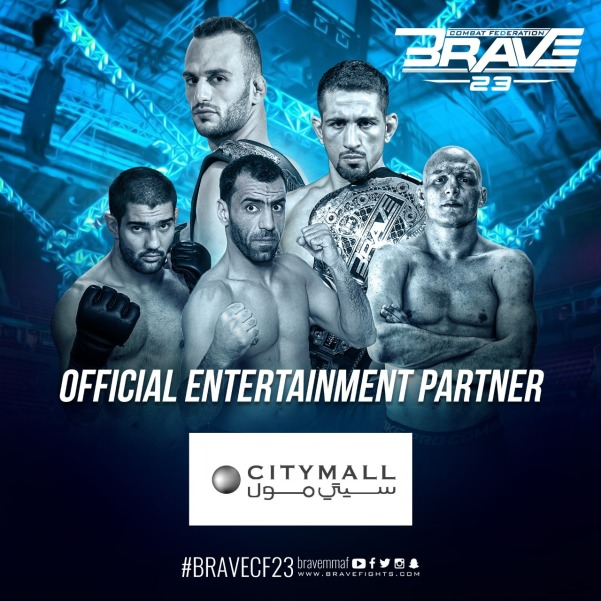 'Brave 23' poster, City Mall
