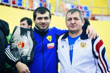How Eldar Eldarov met Khabib Nurmagomedov's father Abdulmanap Nurmagomedov  – CONAN Daily